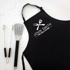 The Grillfather - Personalised Apron Black - 2