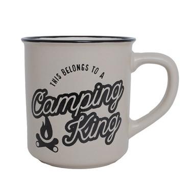 Camping King Manly Mug