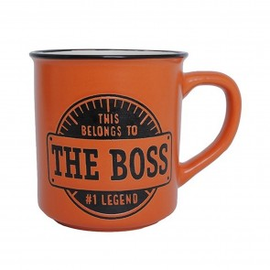 The Boss Manly Mug