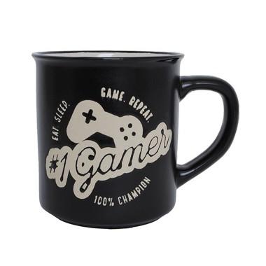 Eat. Sleep. Game. Repeat. Gamer Manly Mug