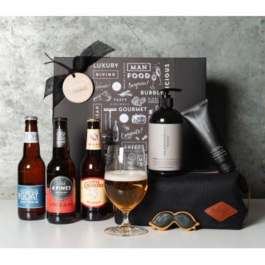 Beer and Pamper Gift Set - 1