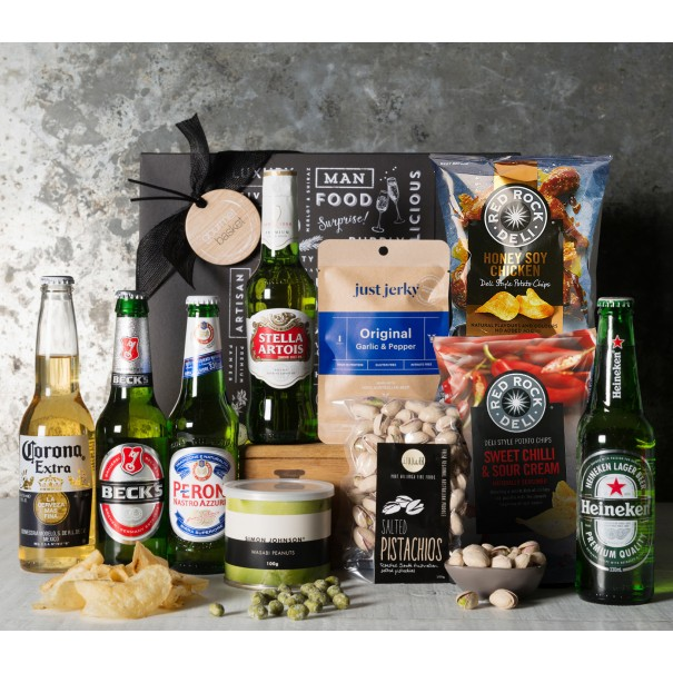 Beer and Snacks Gift Set - 1