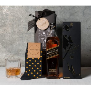 Whisky and Socks Gift Set - 1