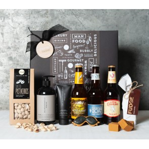Beer, Treats and Pamper Gift Set - 1