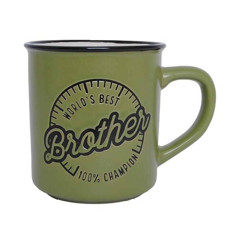 World's Best Brother Manly Mug - 1