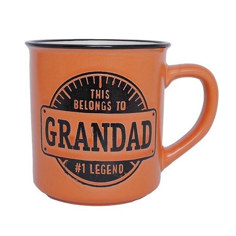 Legendary Grandad Manly Mug - 1