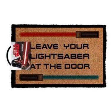 Star Wars Leave Your Lightsaber At The Door Doormat - 1