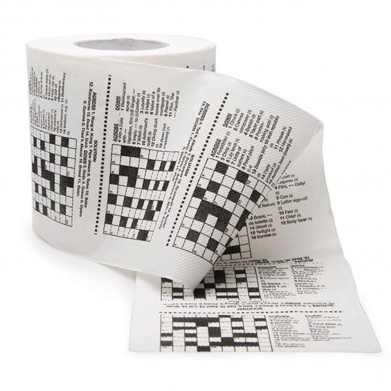 Crossword Toilet Roll - 1