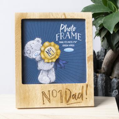No. 1 Dad! Photo Frame - 1