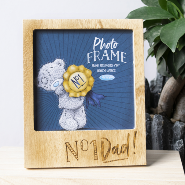 No. 1 Dad! Photo Frame - 1