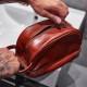 Gentleman's Vegan Leather Toiletry Bag - 2