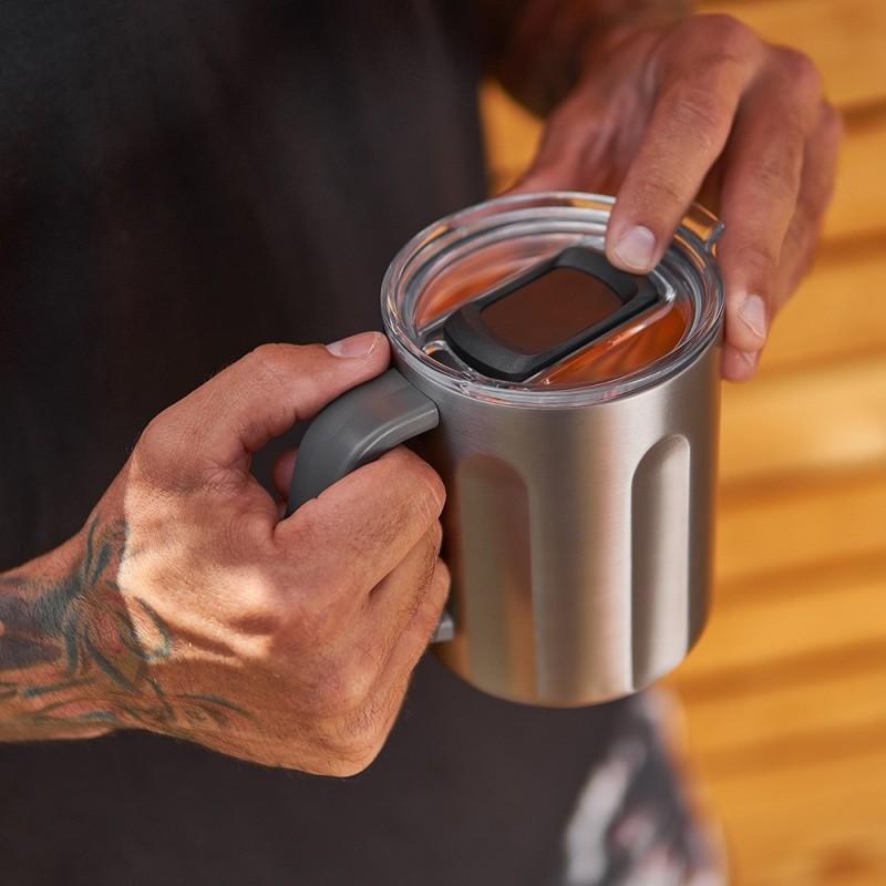 The Big Mug – Double Walled Travel Manly Mug - 1