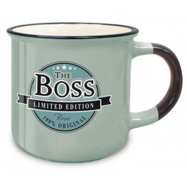The Boss Retro Mug - 1