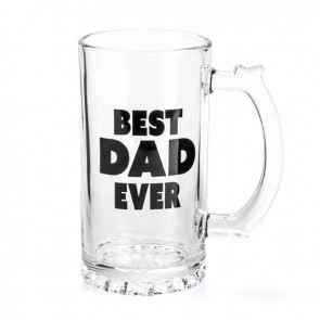 Best Dad Ever Beer Stein - 1