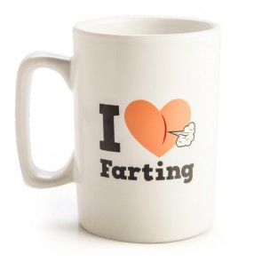 I Love Farting Talking Mug - 1