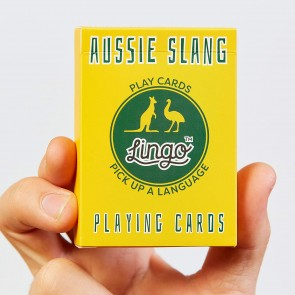 Aussie Slang Playing Cards - 1