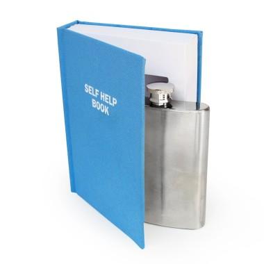 Secret Flask In A Self Help Book