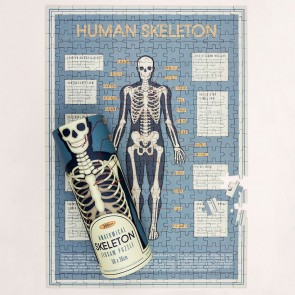 Skeleton 300 Pieces Puzzle In A Tube