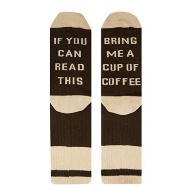 Bring Me A Cup of Coffee Socks - 1