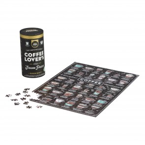 Coffee Lovers 500pc Jigsaw Puzzle by Games Room - 1