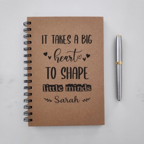 Big Heart - Personalised Notebook for Teacher - 1
