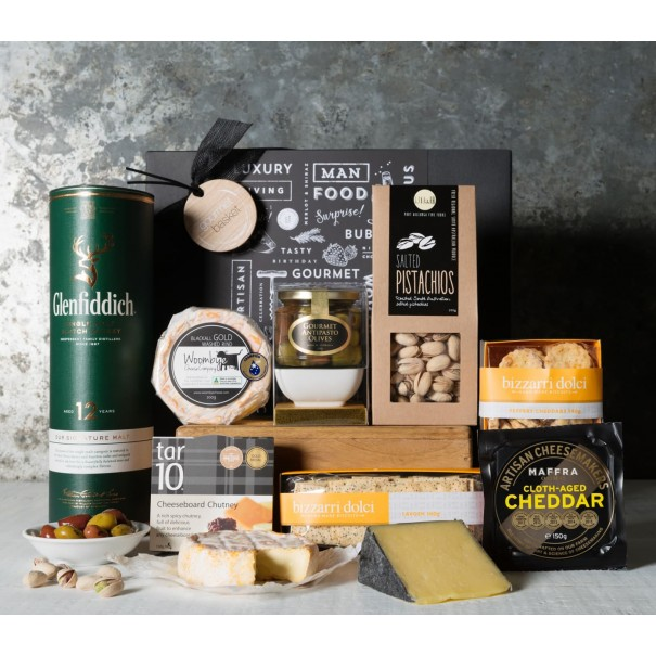 Premium Whisky and Snacks Gift Set - 1