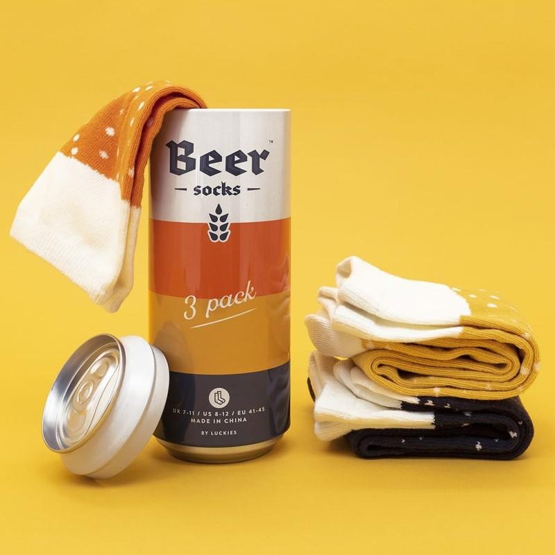 Luckies Beer Socks - Pack of 3