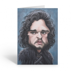 Jon Snow Birthday Sound Card by Loudmouth - 1