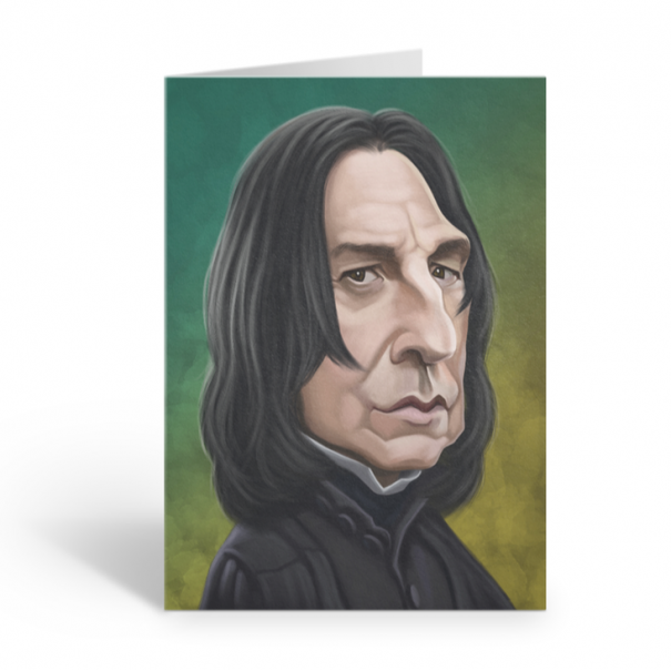 Professor Snape Birthday Sound Card by Loudmouth - 1
