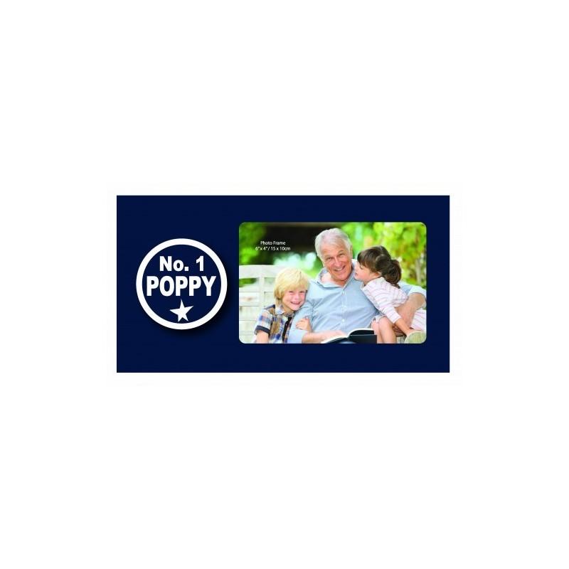 No. 1 Poppy Photo Frame - 1