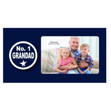 No. 1 Grandad Photo Frame - 1