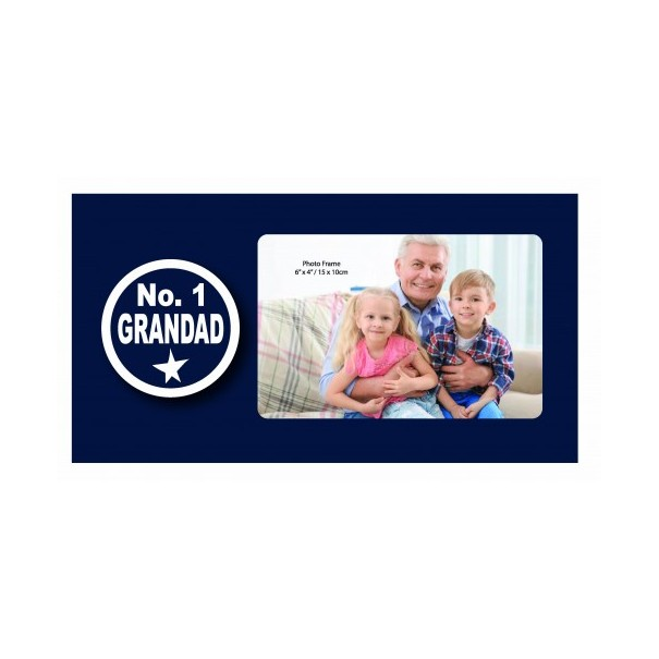 No. 1 Grandad Photo Frame - 1