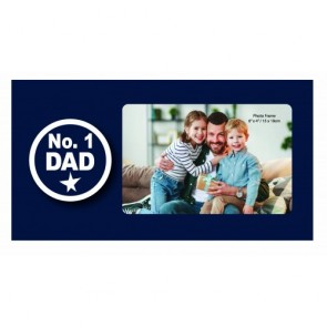 No. 1 Dad Photo Frame - 1