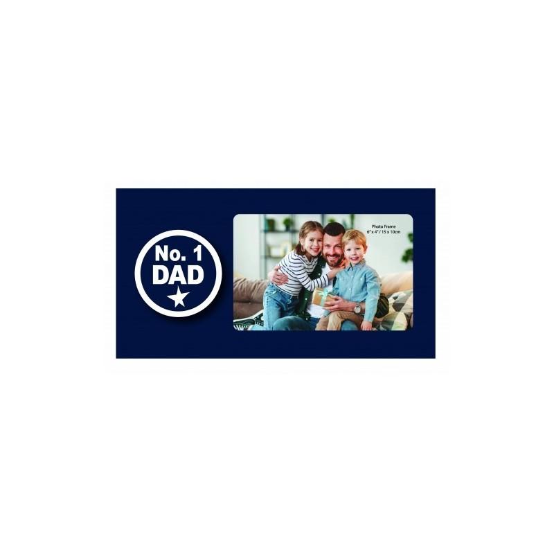 No. 1 Dad Photo Frame - 1