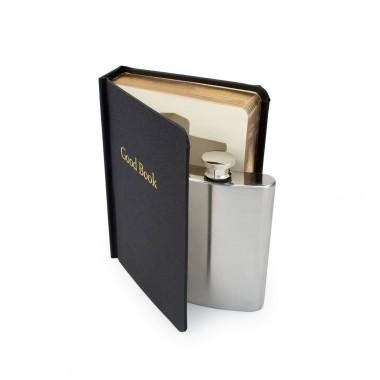 Secret Flask In A Good Book - 1