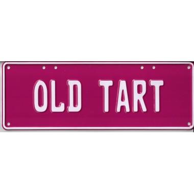 Old Tart Novelty Number Plate - 1