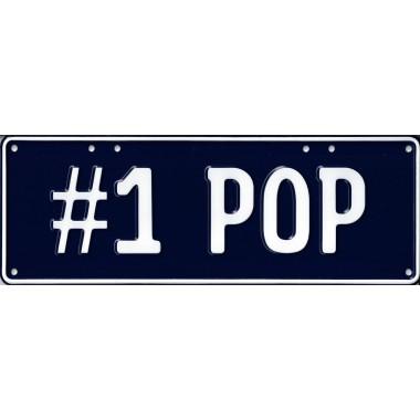 No. 1 Pop Novelty Number Plate - 2