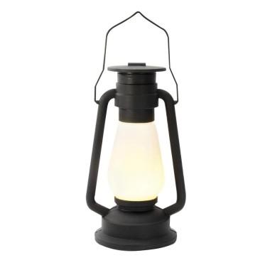 Glowing Hurricane Lamp - 1