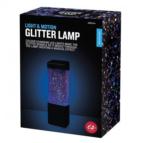 Light & Motion Glitter Lamp - 1