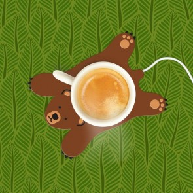 Sleepy Bear Cup Warmer - 1