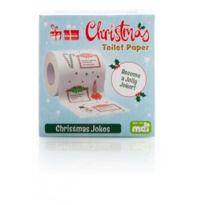 Christmas Jokes Toilet Roll - 1