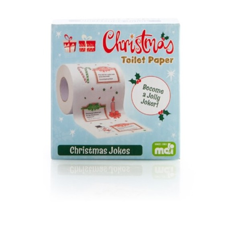 Christmas Jokes Toilet Roll - 1