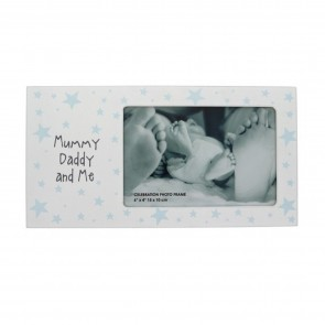 Mummy Daddy and Me Photo Frame - 1