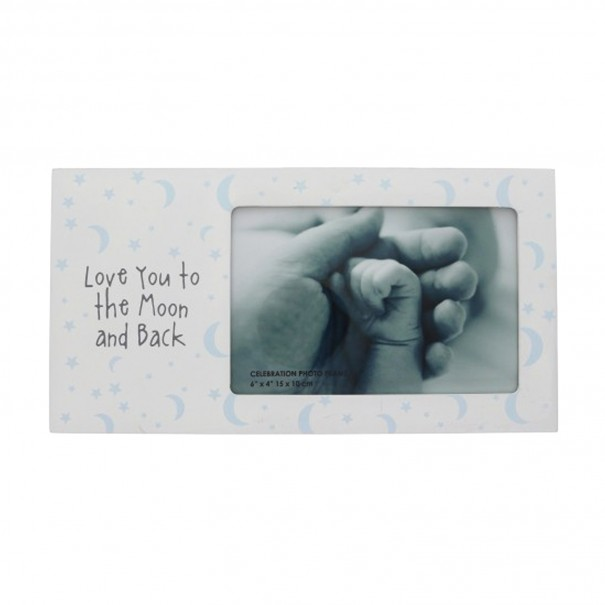Love You to the Moon and Back Photo Frame - 1