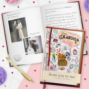 Dear Grandma From You To Me Journal - 1