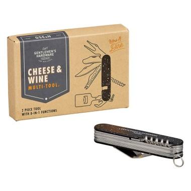 Cheese & Wine Multi Tool by Gentlemen's Hardware - 1