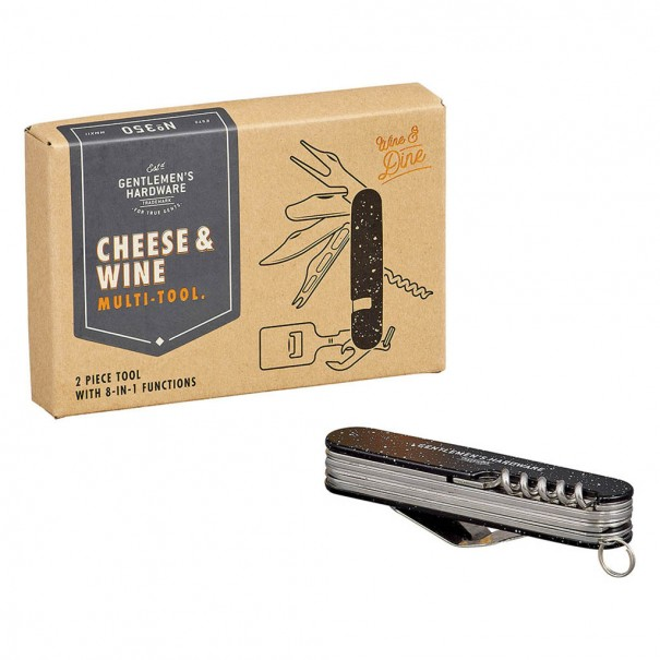 Cheese & Wine Multi Tool by Gentlemen's Hardware - 1