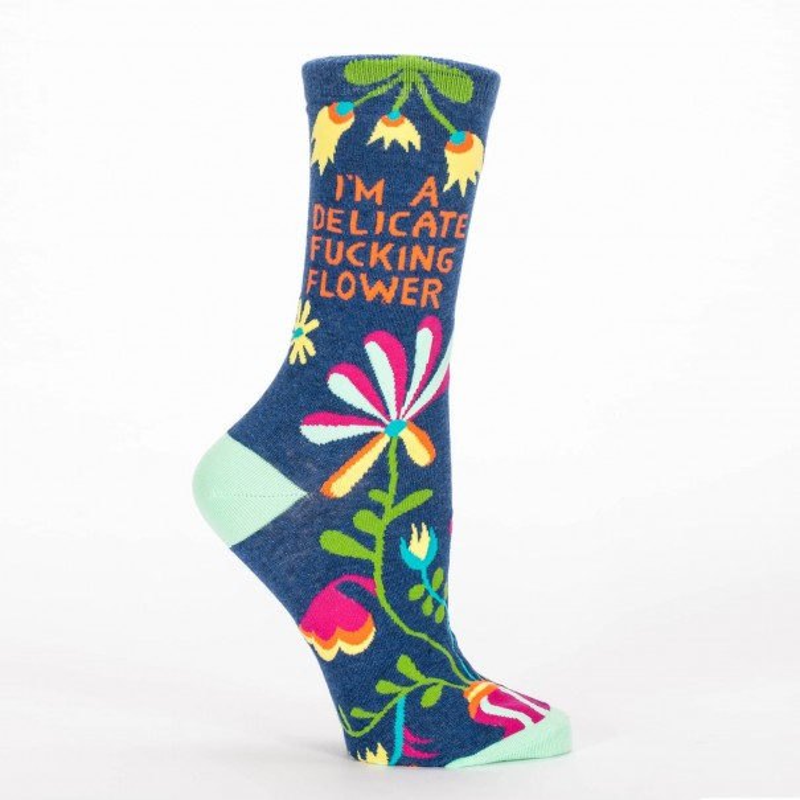 Delicate Flower Socks