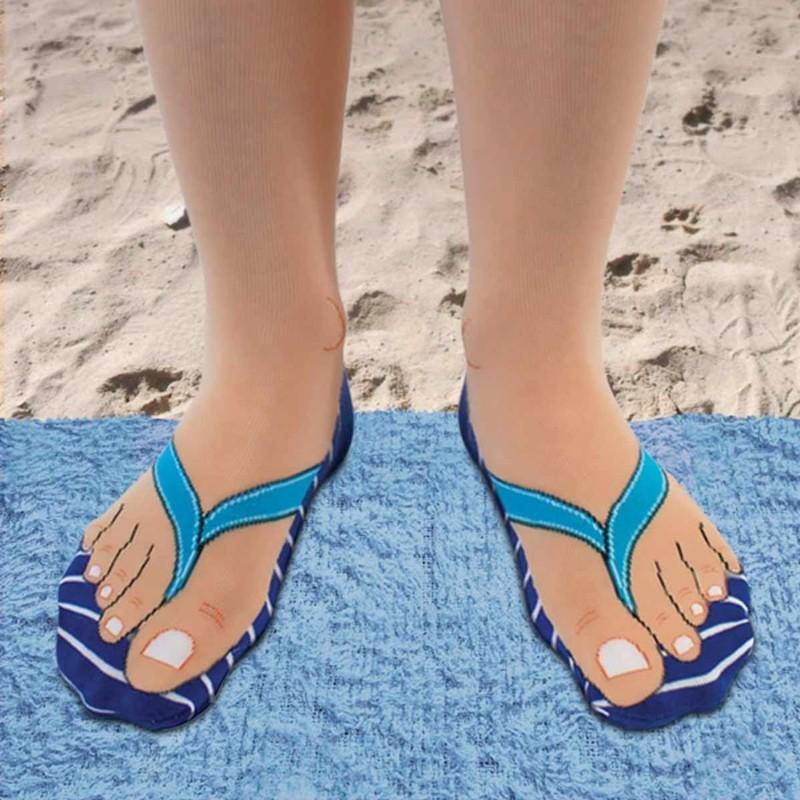 Flip Flop Socks by Ginger Fox
