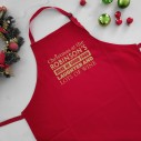 Personalised Christmas Apron - Good Food, Laughter & Lots of Wine - 2